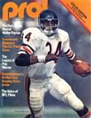 4303: Magazine Colts Edition Walter Payton NFL Football