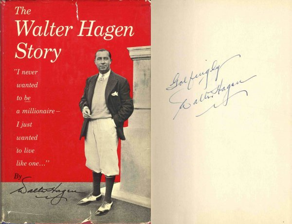 4416: Walter Hagen Story Signed Autobiography First Edi