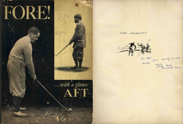 4426: Sports Golf Book Fore Photos Babe Ruth Rockefelle