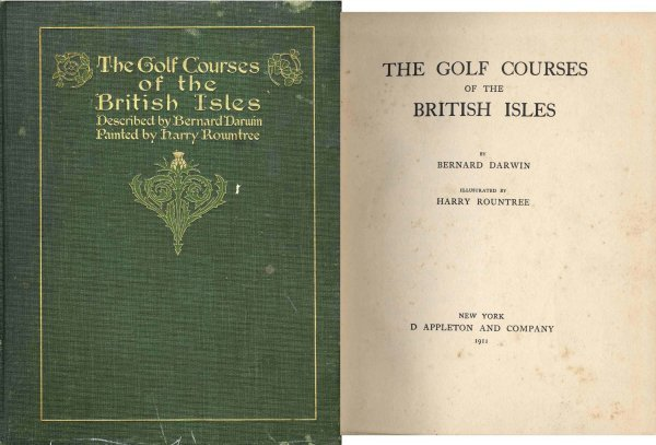 4427: Rare First American Golf Courses British Isles Cl