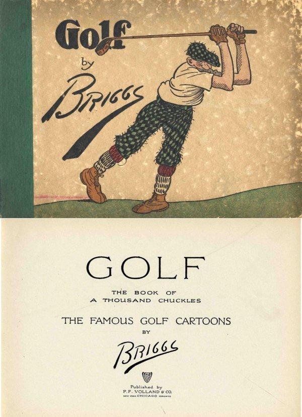 4433: Golf Famous Cartoons Briggs Links Game Sport PGA