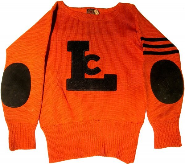 21: Sweater Lowe Campbell Jersey Football 1920s Mint Sp