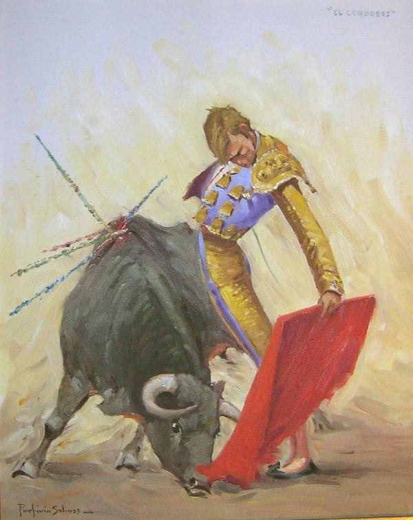404: Art Signed El Cordobes Porfirio Salinas Texas Mata