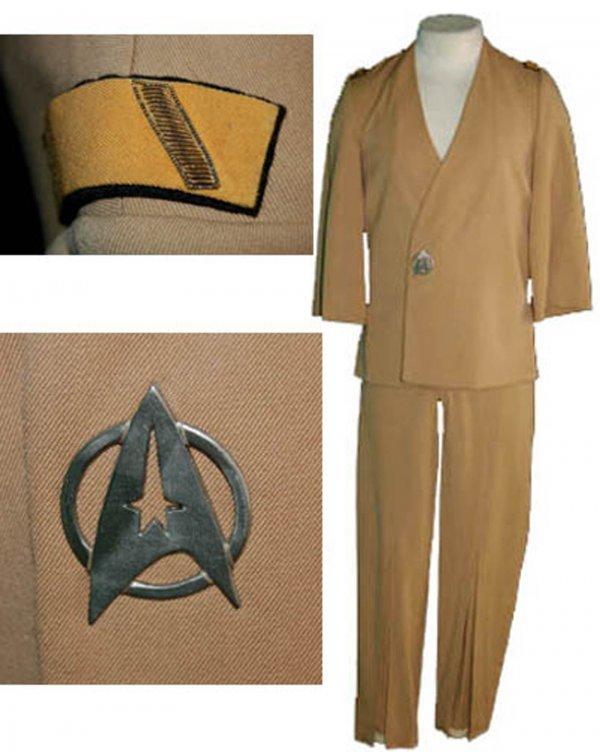 406: Star Trek Uniform George Takei Sulu Motion Picture