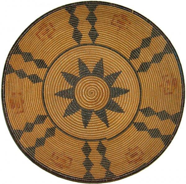 Native American Indian Woven Basket Chemehuevi Handmade