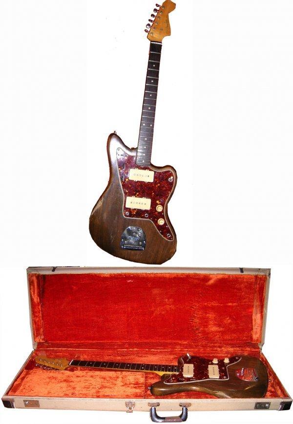 890: Fender Jazzmaster Electric Guitar Original 1960