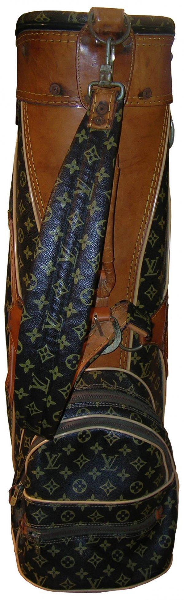 895: Louis Vuitton Golf Bag Vintage Luxury Sports Leath