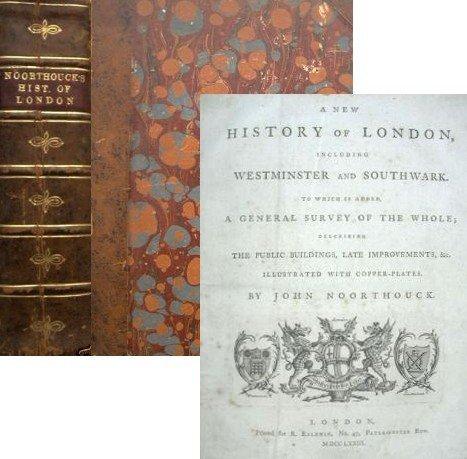 1311: Book History London John Noorthouck First Edition