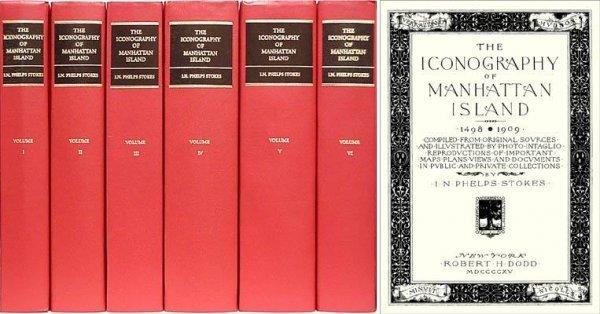 1317: Iconography Manhattan Island New York City Book