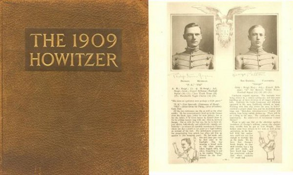 1319: West Point Yearbook Howitzer George Patton Grad C