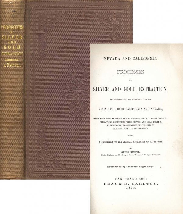 1360: Book NV CA Silver Gold Guido Kustel First Edition