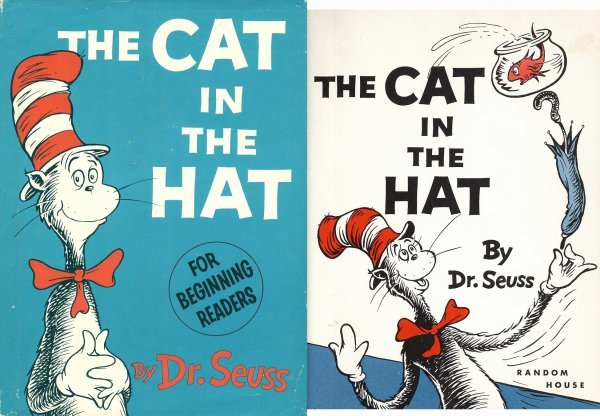 1613: Book 1st First Edition Print Dr Seuss Cat Hat Rar