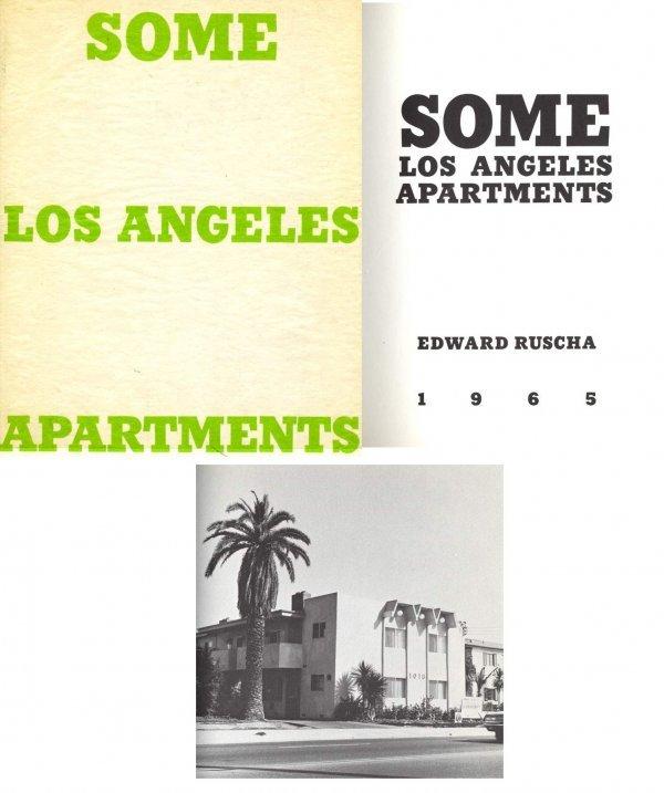 1627: Book Los Angeles Apartments Ed Ruscha Limited Edi