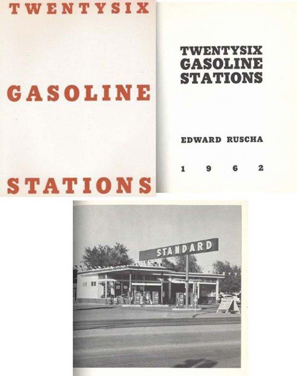 1628: Book Twentysix Gasoline Stations Ed Ruscha Rare E