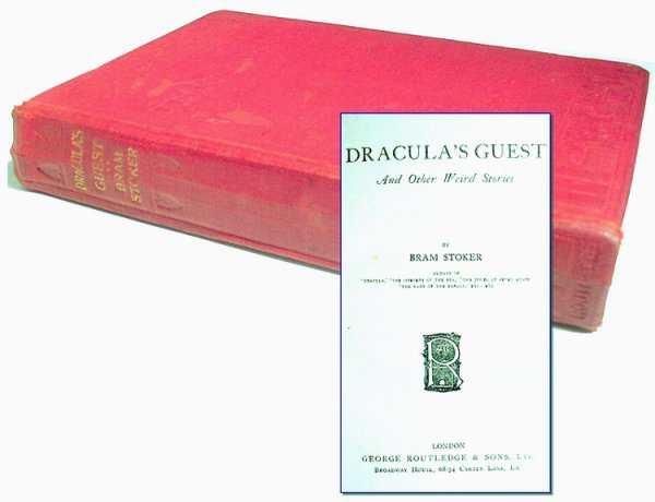 1634: Book Bram Stoker Dracula Guest First 1st Edition