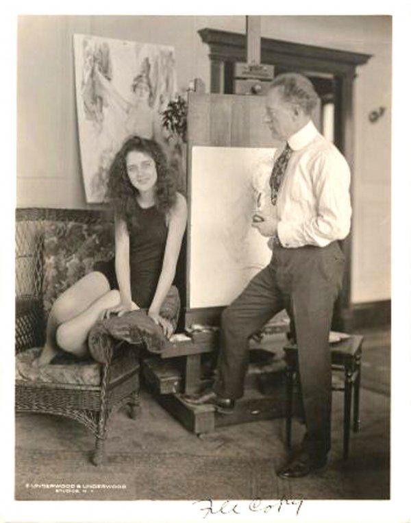 1909: Photo Howard Chandler Christy 1925 Girls Rare