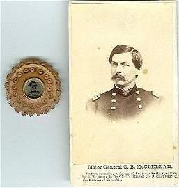 2100: Civil War Soldier Tintype CDV McClellan Campaign