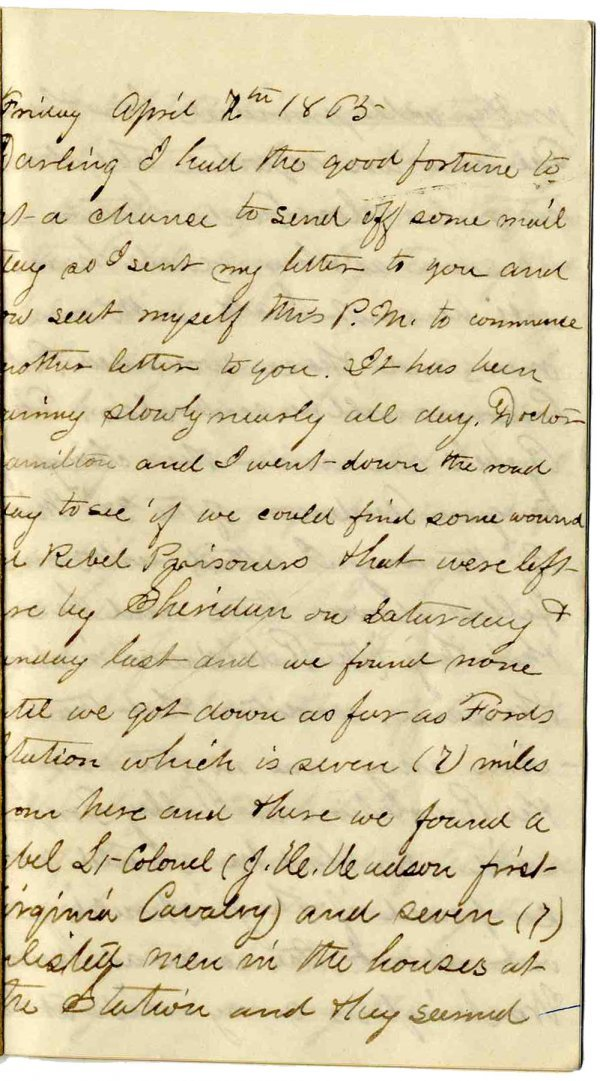 2233: Civil War Soldier Diary 7th US Colored Troops Off