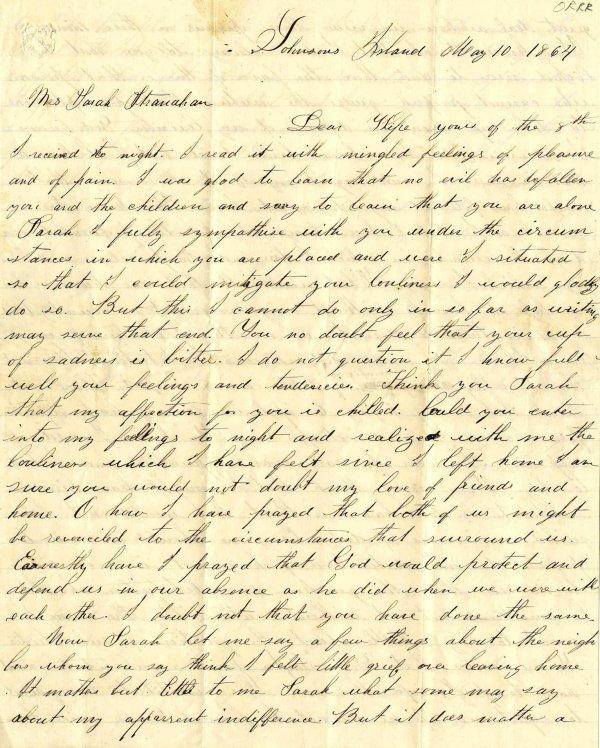2239: Civil War Soldier Ohio 171st Infantry Signed Lett