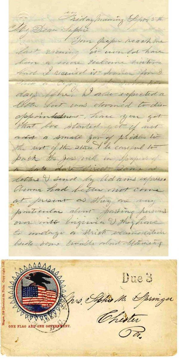 2241: Civil War Soldier Pennsylvania 124th Infantry ALS