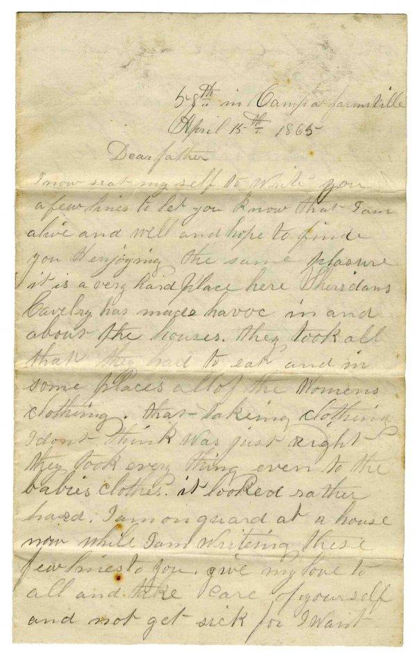 2244: Civil War Soldier Massachusetts 58th Infantry ALS