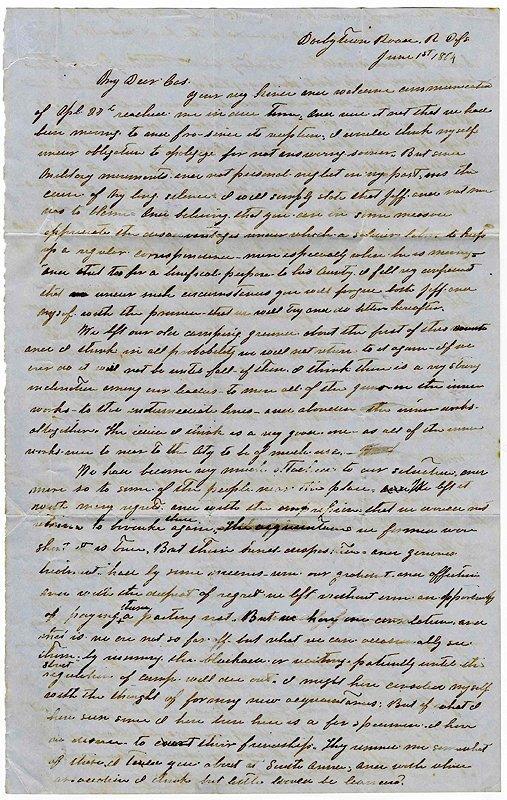 2250: Civil War Soldier Letter ALS Confederate Richmond