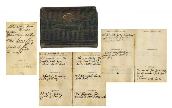 2620: Civil War Soldier Diary 188th NY Infantry Battle