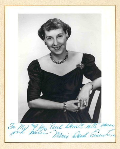 Mamie Eisenhower Signed Photo Autograph First Lady