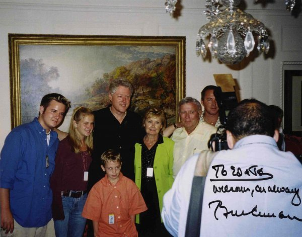 Signed Photo President Bill Clinton Autograph Sig Pic