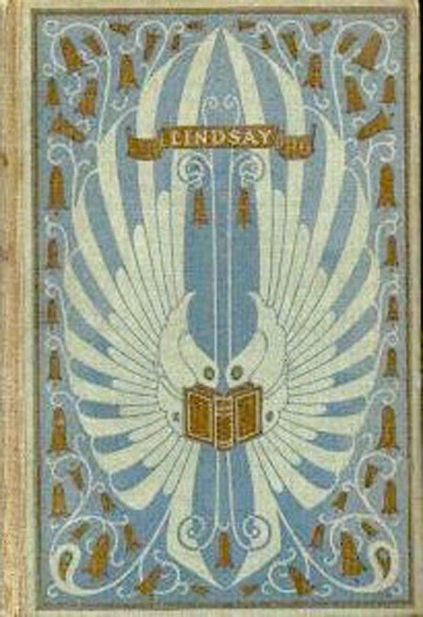 Book Poems Vachel Lindsay Signed Numbered Edition Sig