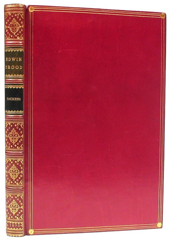 Book Mystery Edwin Drood Charles Dickens First Edition