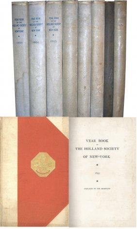 Book Volume Lot Holland Society New York NYC Netherland