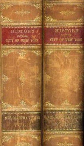Book History New York NYC Martha Lamb First 1st Edition