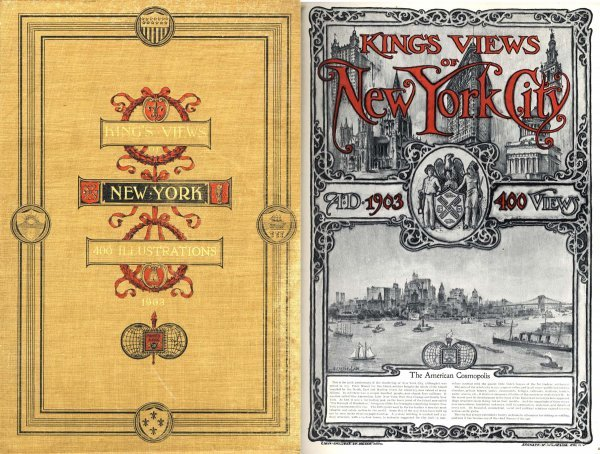 Book King's Views New York City Illustrated NYC Rare