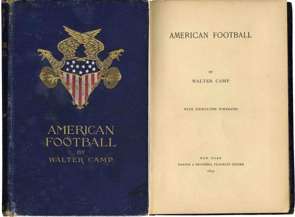 Image result for 1st edition walter camp