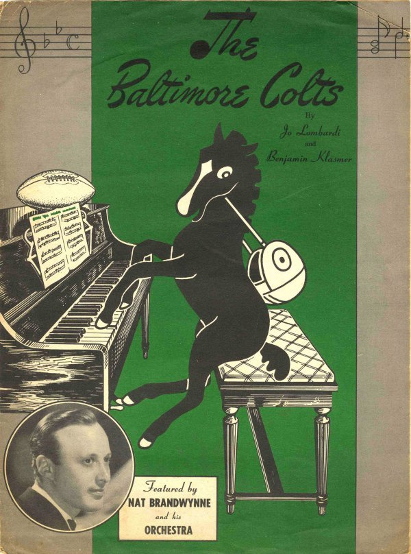 Colts Theme Song Sheet Music Lyrics Lombardi Klasmer