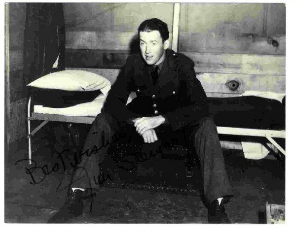 Jimmy Stewart Signed Photo Celebrity Movie Star