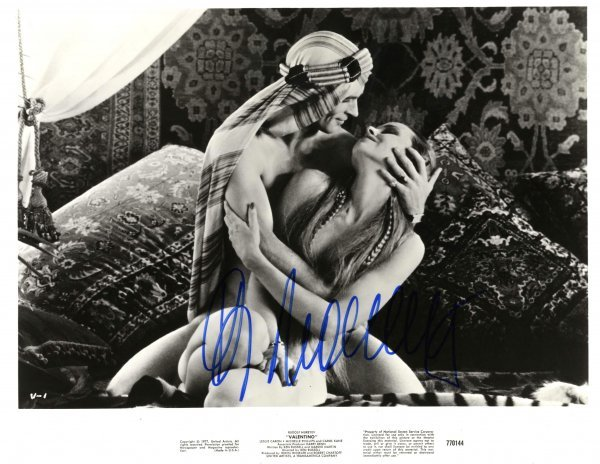 Rudolf Nureyev Valentino Signed Photo Autograph Ballet