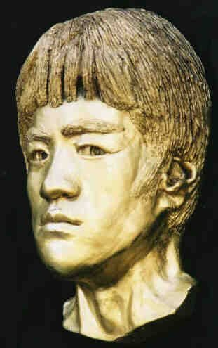 Bruce Lee Life Mask Kung Fu Enter Dragon