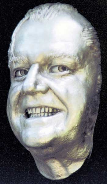 Jack Nicholson Life Mask Shining Statue