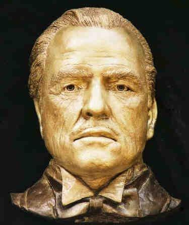 Life Mask Marlon Brando Don Corleone Godfather