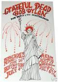 Grateful Dead Bob Dylan Tom Petty Concert Poster 1986