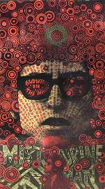 Bob Dylan Martin Sharp Poster Oz Tambourine Man Artwork