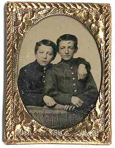 Civil War Soldier Tintypes Cadets Drummer Tin Photo Pic