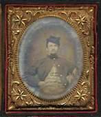 Rare Civil War Tintype Photoraph Union Soldier CW Pic