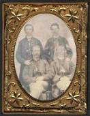 Civil War Soldiers Tintype Union Uniform Photo CW