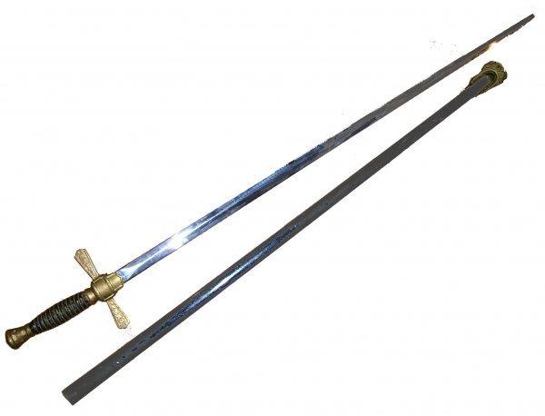 2364: Civil War Militia Officer Sword Union American Hi