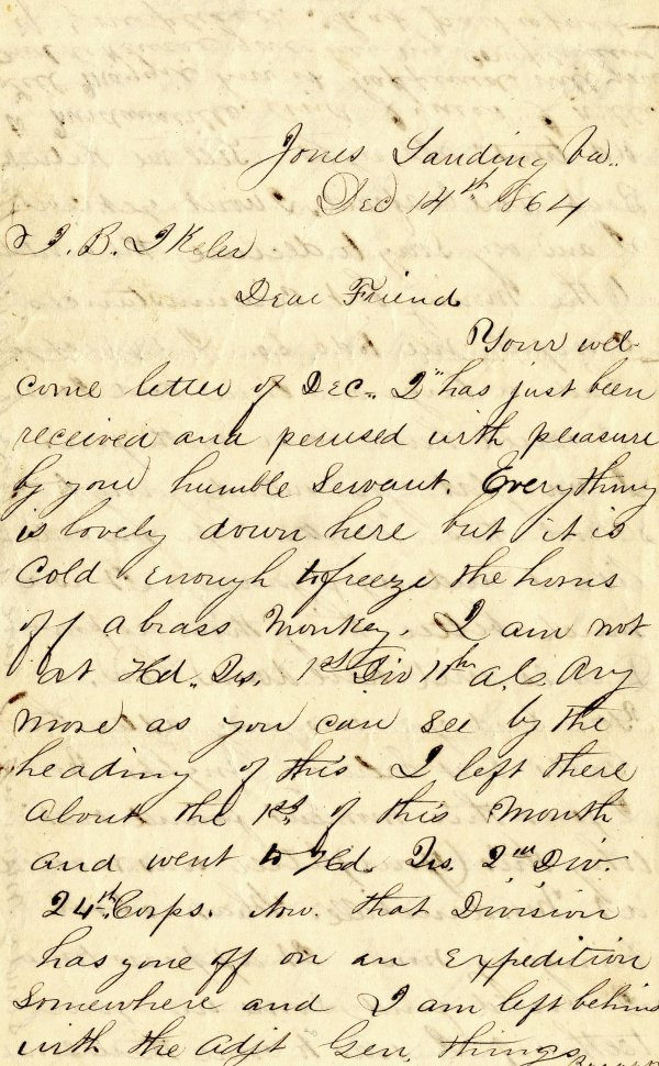 2375: Civil War Soldier PA 2nd Artillery Signed Letters
