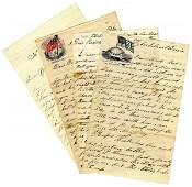 2742: Connecticut Infantry ALS American Civil War Lette