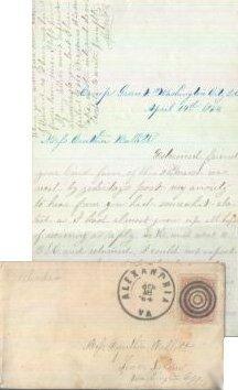 Civil War Letter ALS Soldier 25th Ohio Infantry 1864 CW